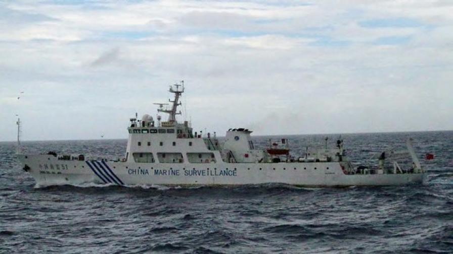 Китайски кораби навлизат в спорни води с Япония