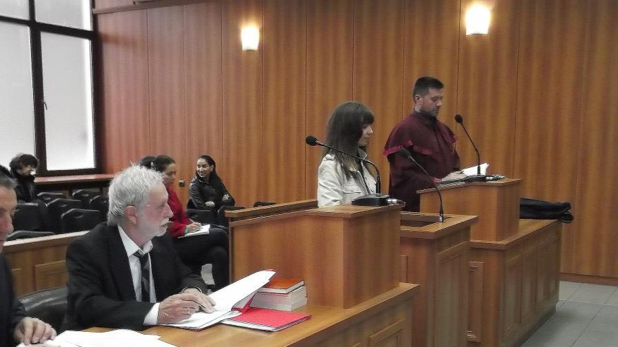 Дадоха 8 г. затвор на майка, убила новороденото си