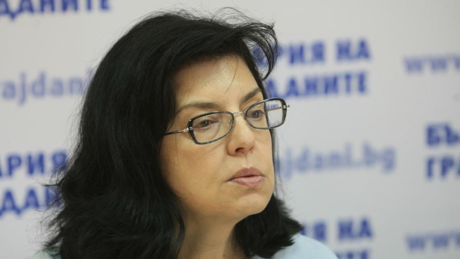 """""""България на гражданите"""" издигна Кунева за евродепутат"""