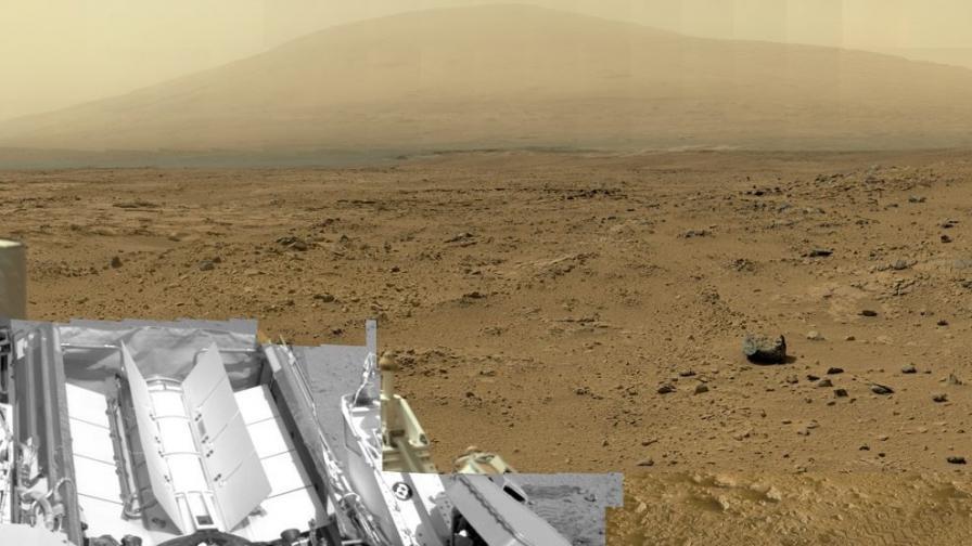 Метеорит в Сахара говори за историята на Марс