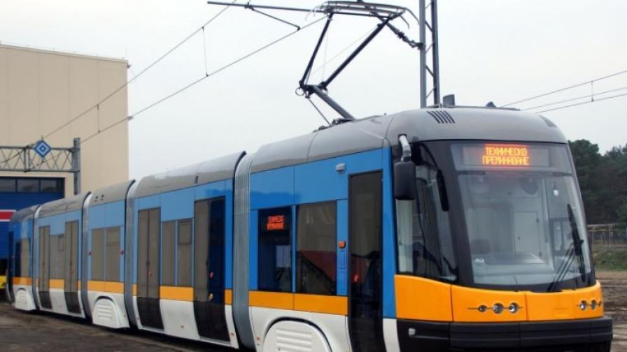 Представиха новите софийски трамваи