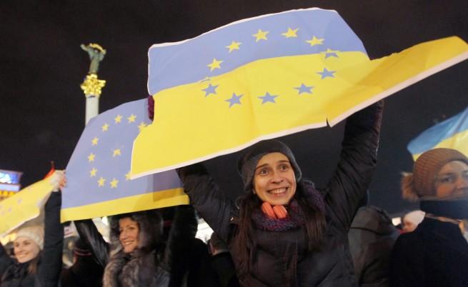 Отново протест в Киев. Опозицията поиска оставката на Янукович