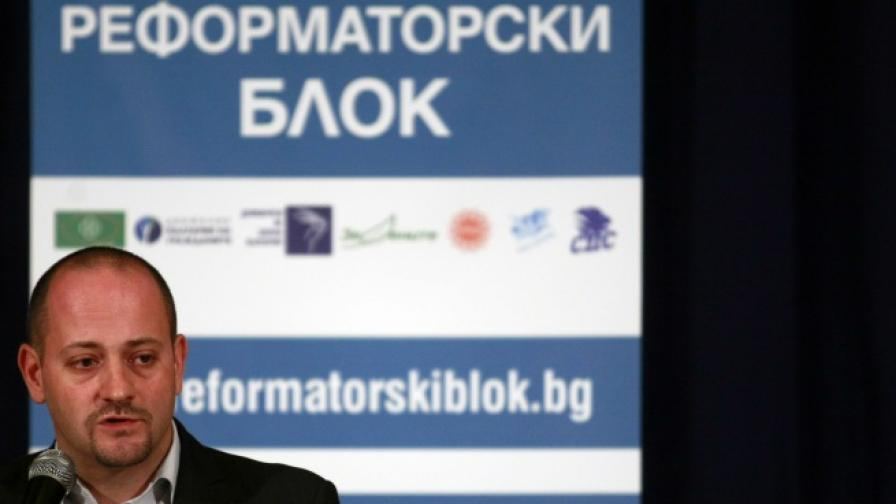 Лидерът на ДСБ Радан Кънев