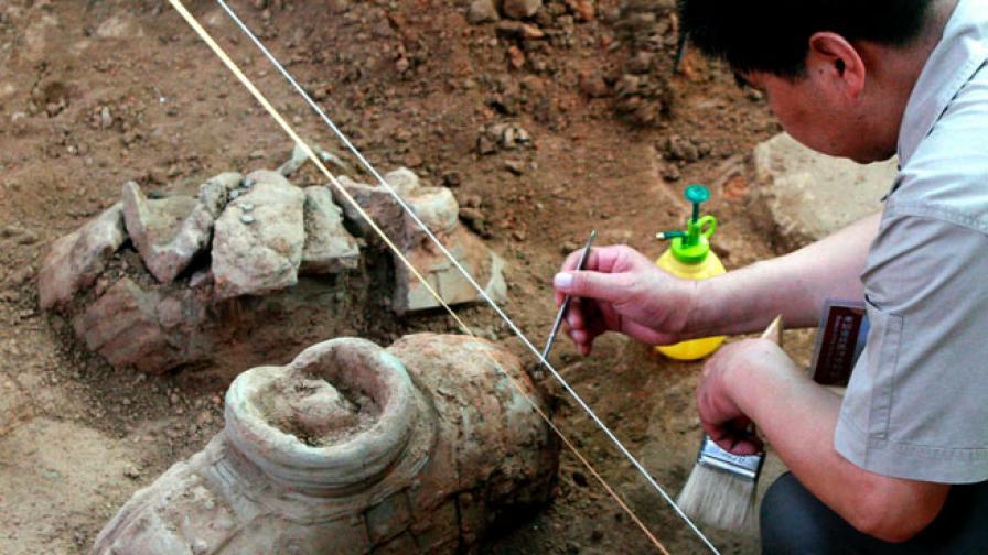 В Китай откриха женски черепи от жертвоприношение преди 4000 години