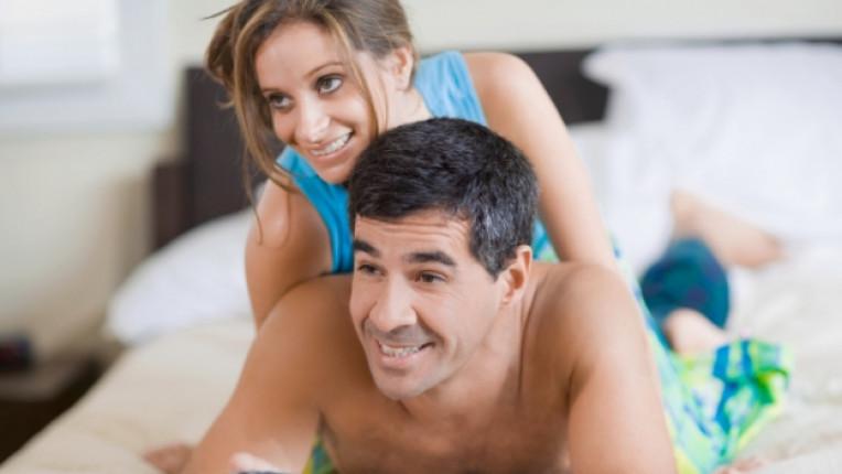 двойка мъж жена дистанционно