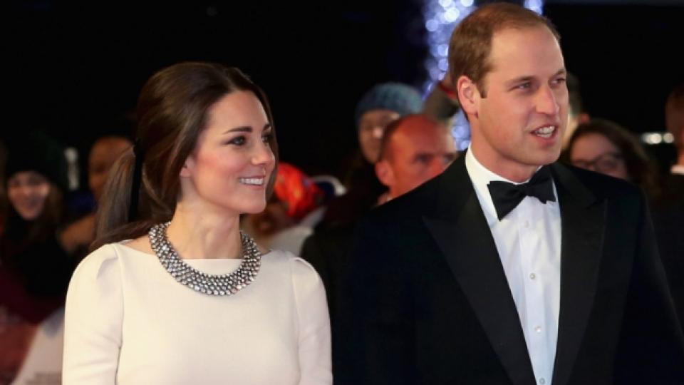 Кейт и Уилям на премиерата на филма за Нелсън Мандела