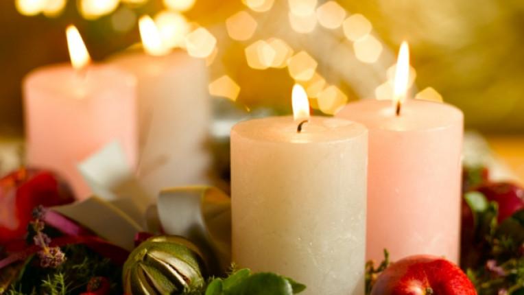 свещи Коледа свещ вяра
