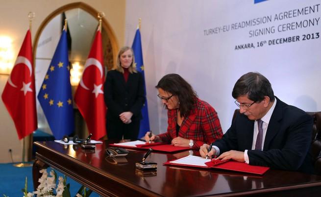 Турция и ЕС подписаха споразумението за реадмисия