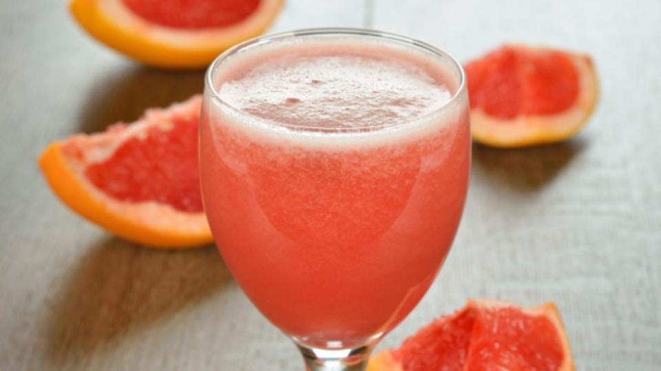 Грейпфрутът е богат на витамини А, C и фибри