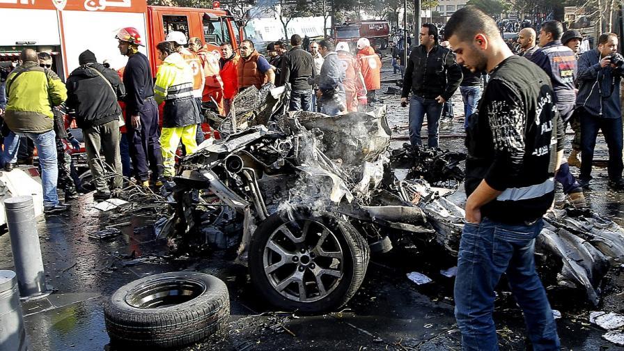 Дамаск отрича да е замесен в атентата в Бейрут