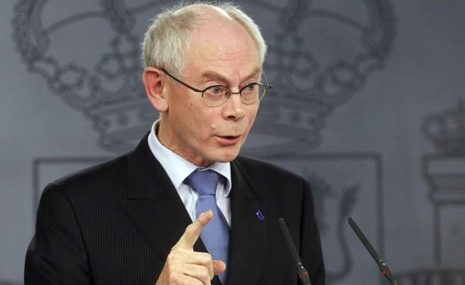 Ромпой изключи военна намеса на Евросъюза в Украйна