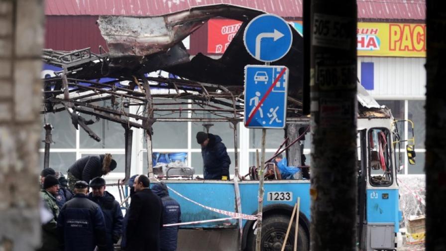 Идентифициран е един от нападателите във Волгоград, 4000 полицаи окупираха града