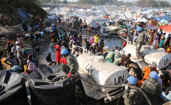 Бежански лагер в Южен Судан