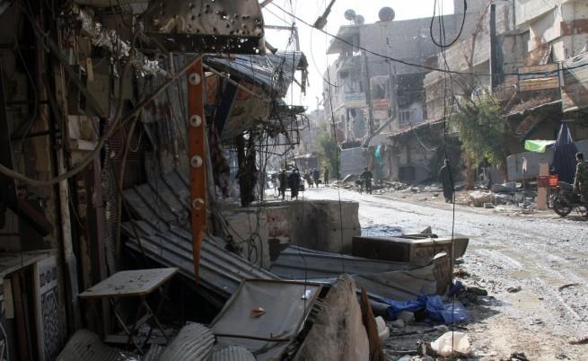 Сирия: Започва