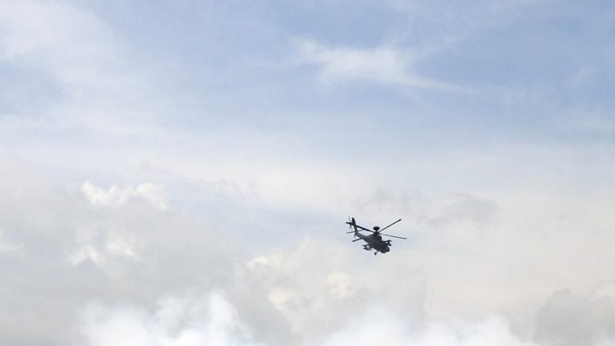 Американски военен хеликоптер се разби във Великобритания