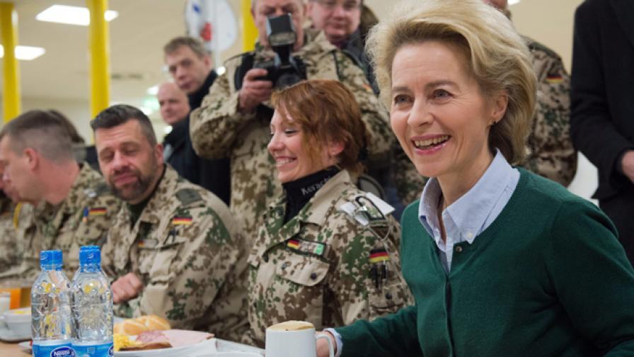 Нов приоритет за германската армия: семейният живот