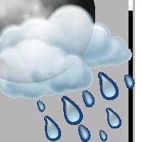 Променлива облачност с краткотрайни превалявания от  дъжд