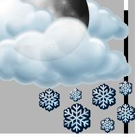 Предимно облачно с краткотрайни превалявания от сняг